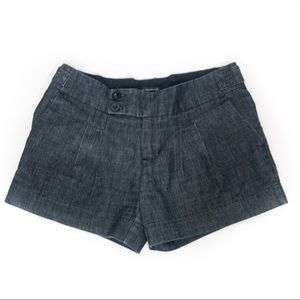 Urban Behaviour Denim Pleated Shorts - Size XS